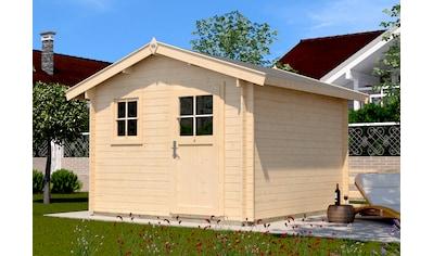 WEKA Gartenhaus »107 Premium«, BxT: 380x280 cm, inkl. Fußboden kaufen