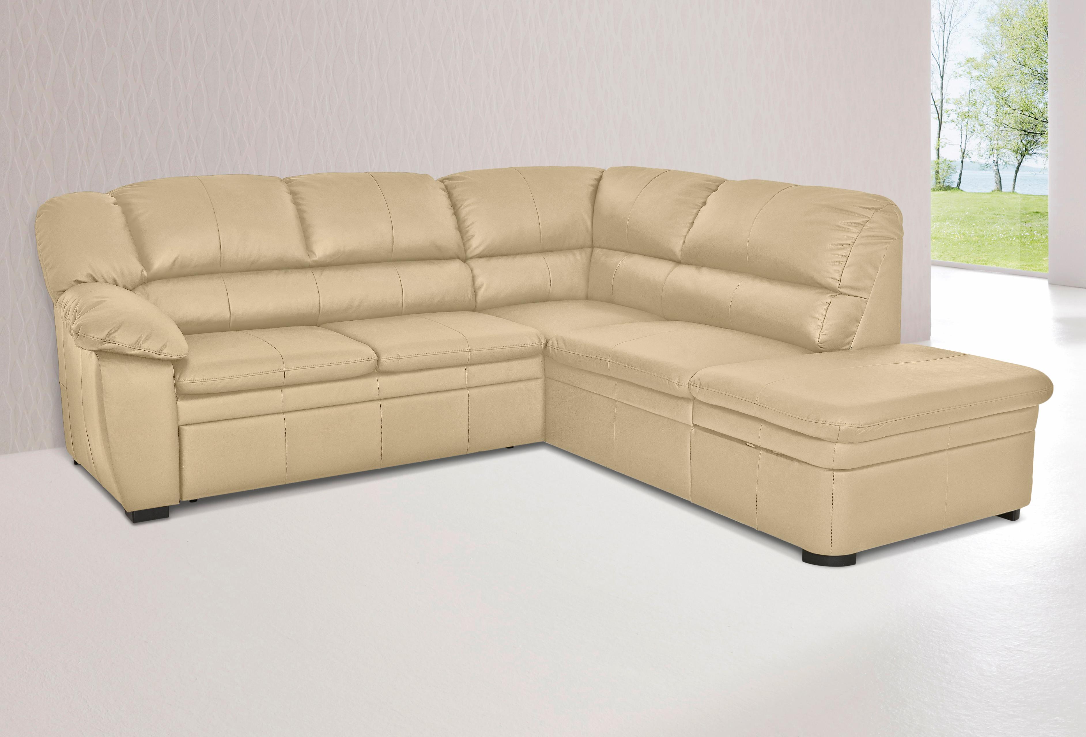 Cotta Polsterecke, wahlweise mit Bettfunktion | Wohnzimmer > Sofas & Couches > Ecksofas & Eckcouches | Leder - Microfaser - Kunstleder | COTTA