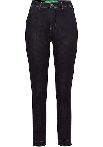 United Colors of Benetton Slim-fit-Jeans, mit Bügelfalten vorne kaufen