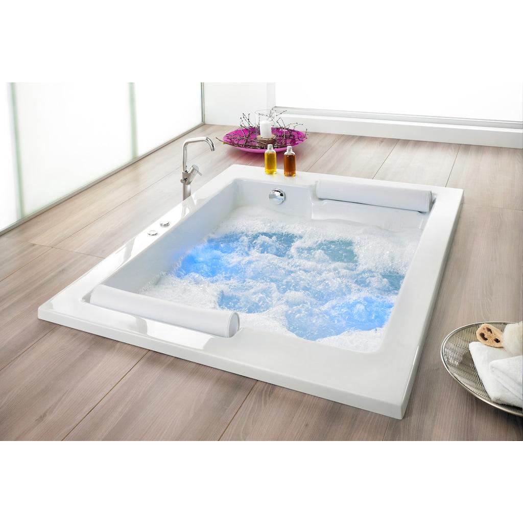 OTTOFOND Whirlpool-Badewanne »Maharaja«, Typ Exklusiv chrom und zwei Nackenrollen