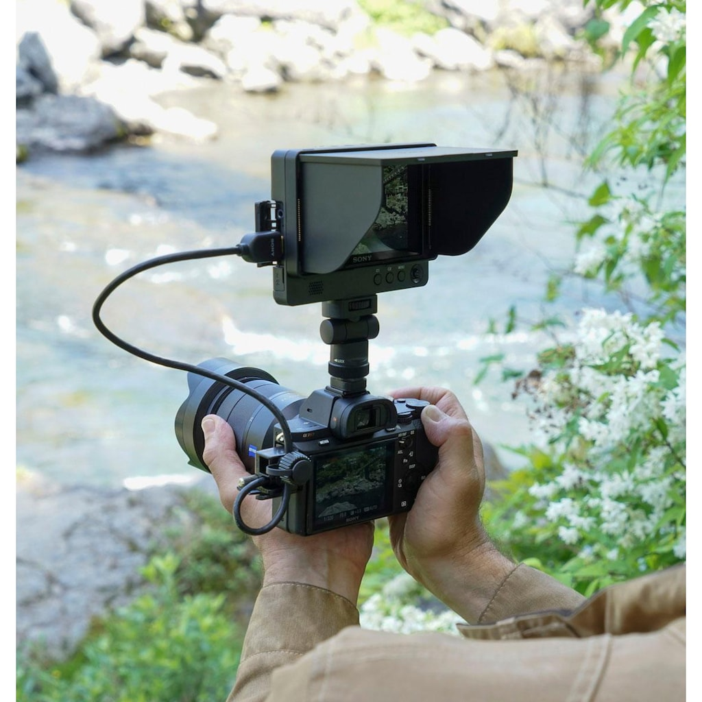 Sony Systemkamera »Alpha 7R II ILCE-7RM2B«, WLAN (Wi-Fi)-NFC, 42.4 MP Vollformat Exmor R CMOS Sensor ohne OLPF