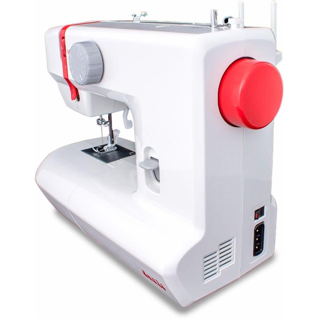 Veritas Nähmaschine »Janis«, 12 Programme, 4 Stufen-Knopflochautomatik