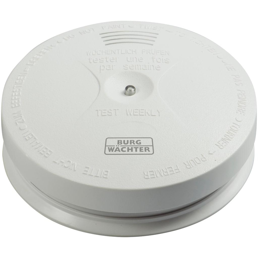 Burg Wächter Rauchmelder »Smoke 2050«, zuverlässige Alarmierung durch lauten Warnton und rote LED