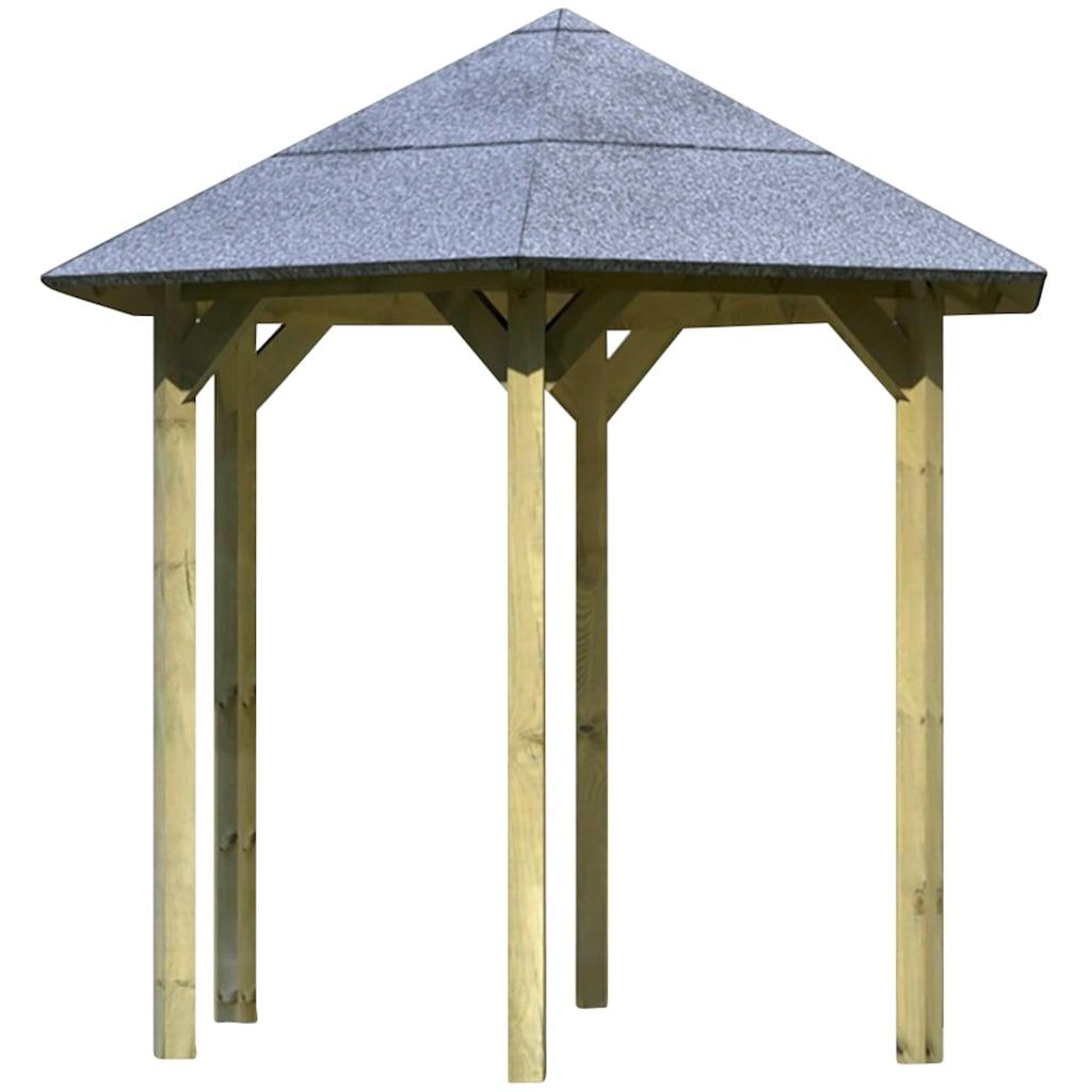 Karibu Holzpavillon »Lissabon«, BxT: 299x260 cm
