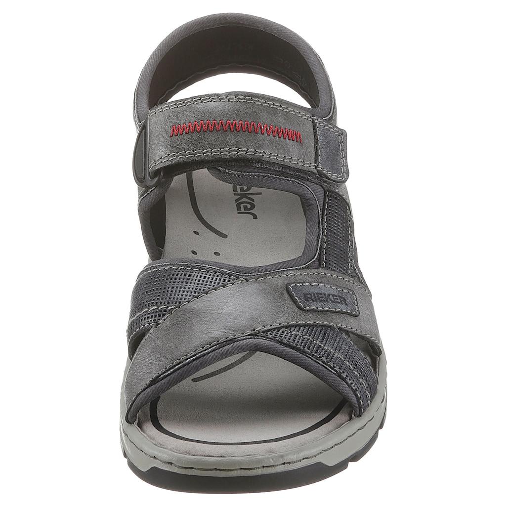Rieker Sandale, mit Klettverschluss