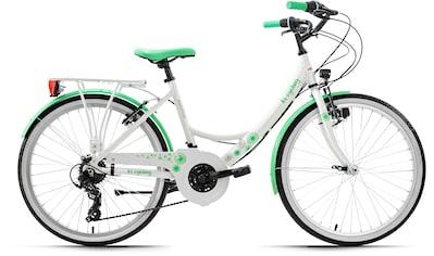 KS Cycling Jugendfahrrad »Dandelion«, 21 Gang Shimano Tourney Schaltwerk, Kettenschaltung kaufen