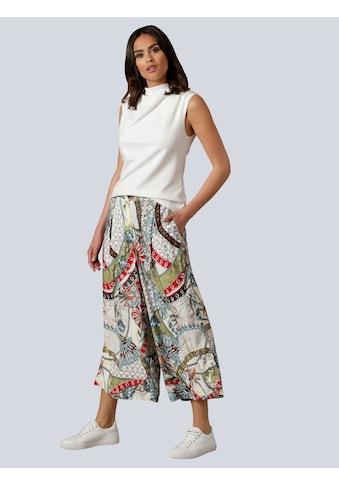 Alba Moda Shirttop, mit Wasserfallausschnitt kaufen