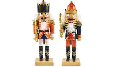 RIFFELMACHER & WEINBERGER Dekofigur »Nußknacker«, aus Holz, Höhe ca. 26 cm kaufen