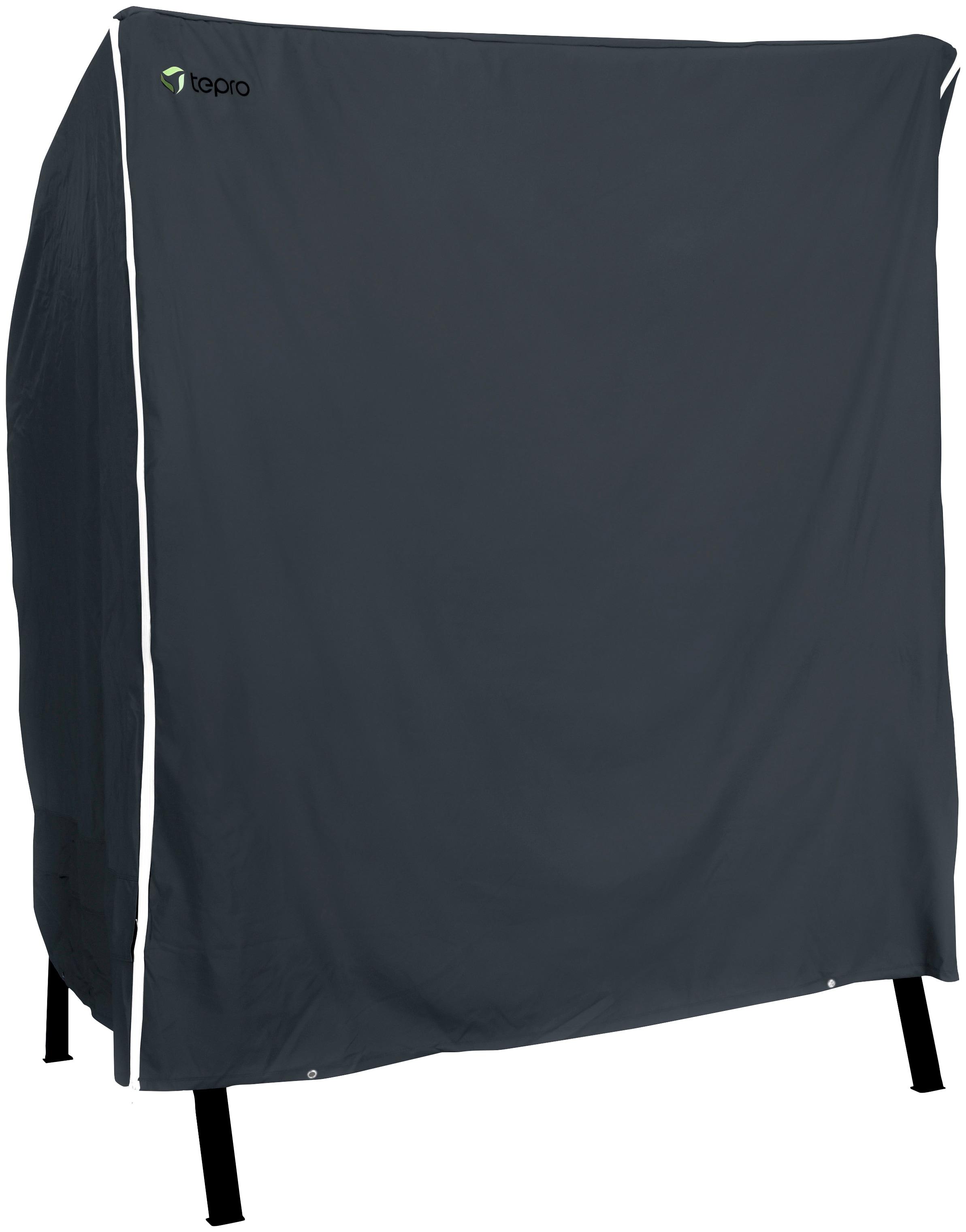 Tepro Strandkorb-Schutzhülle Universal, für Strandkorb groß, BxLxH: 155x105x170 cm schwarz Gartenmöbel-Schutzhüllen Gartenmöbel Gartendeko