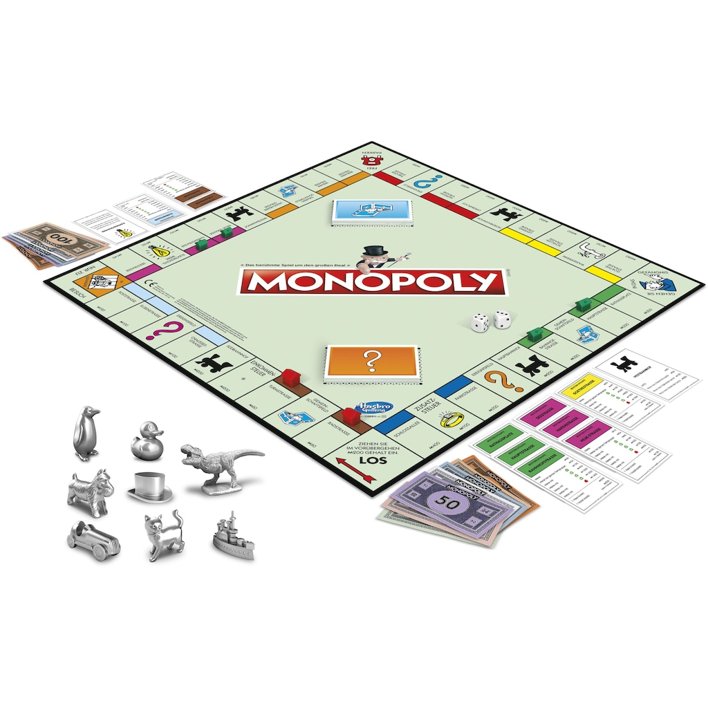 Hasbro Spiel »Monopoly Classic«, Made in Europe