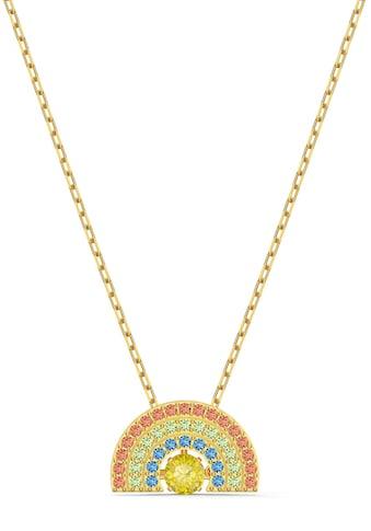 Swarovski Kette mit Anhänger »Regenbogen, Sparkling Dance Rainbow, mehrfarbig hell, vergoldet, 5521756« kaufen
