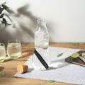black+blum Wasserkaraffe, stylisch und auslaufsicher, mit Aktivkohlefilter, 1100 ml