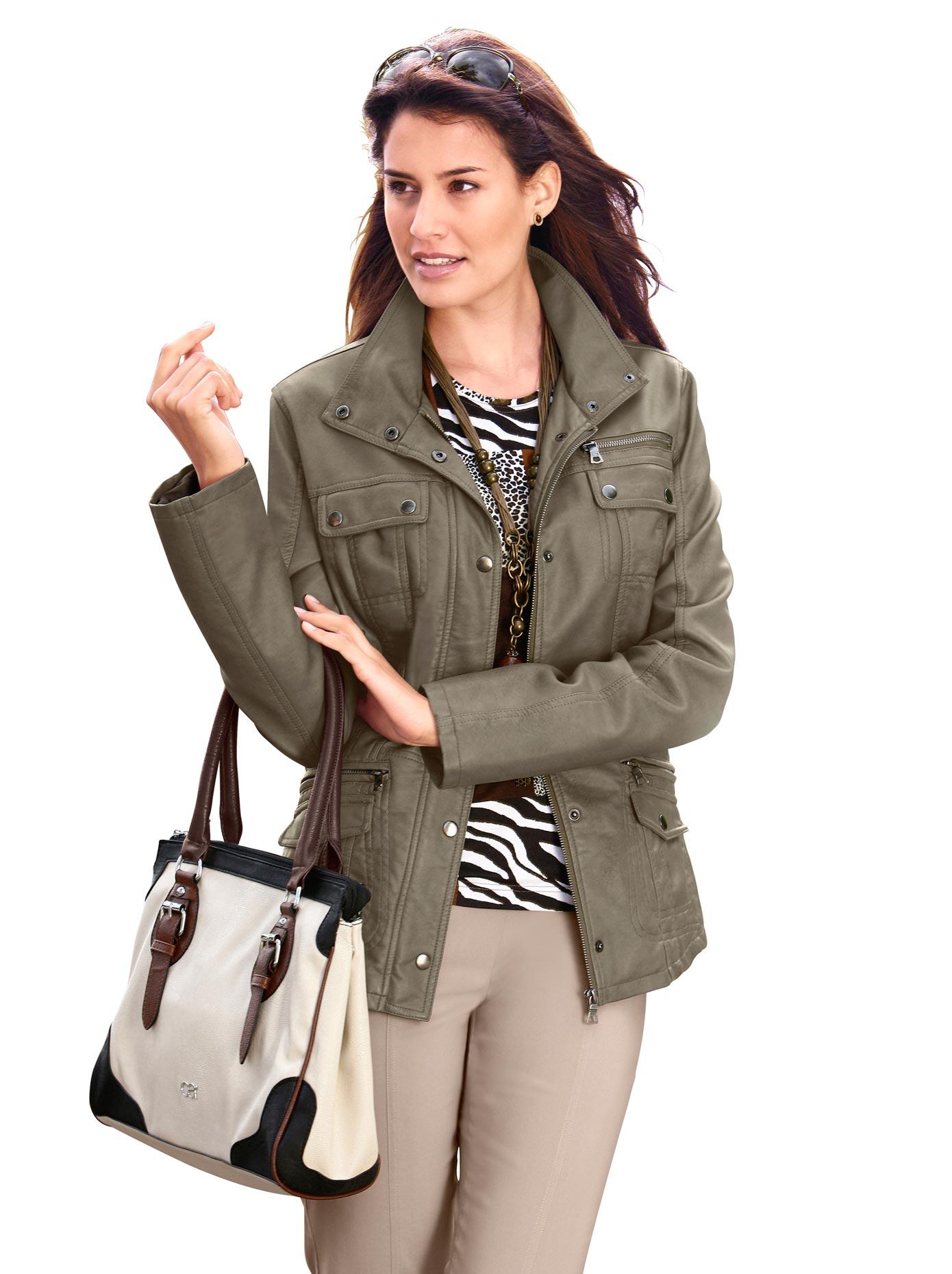 Mainpol Jacke mit feinen Farbschattierungen kaufen   BAUR