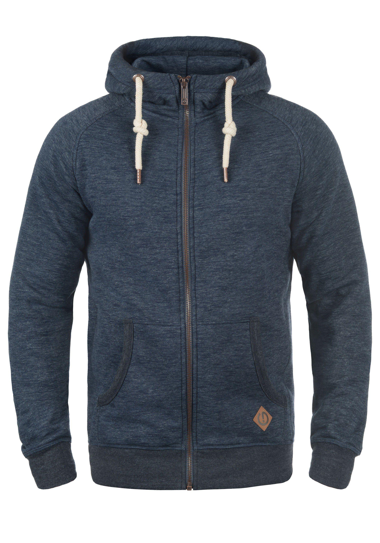 Solid Kapuzensweatjacke Vitu   Bekleidung > Sweatshirts & -jacken > Sweatjacken   Blau   Leder   Solid