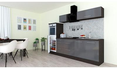 RESPEKTA Küchenzeile »RP270«, mit E-Geräten, Breite 270 cm kaufen