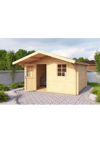 OUTDOOR LIFE PRODUCTS Gartenhaus »Viljandi 485«, BxT: 320x445 cm, inkl. Fußboden kaufen