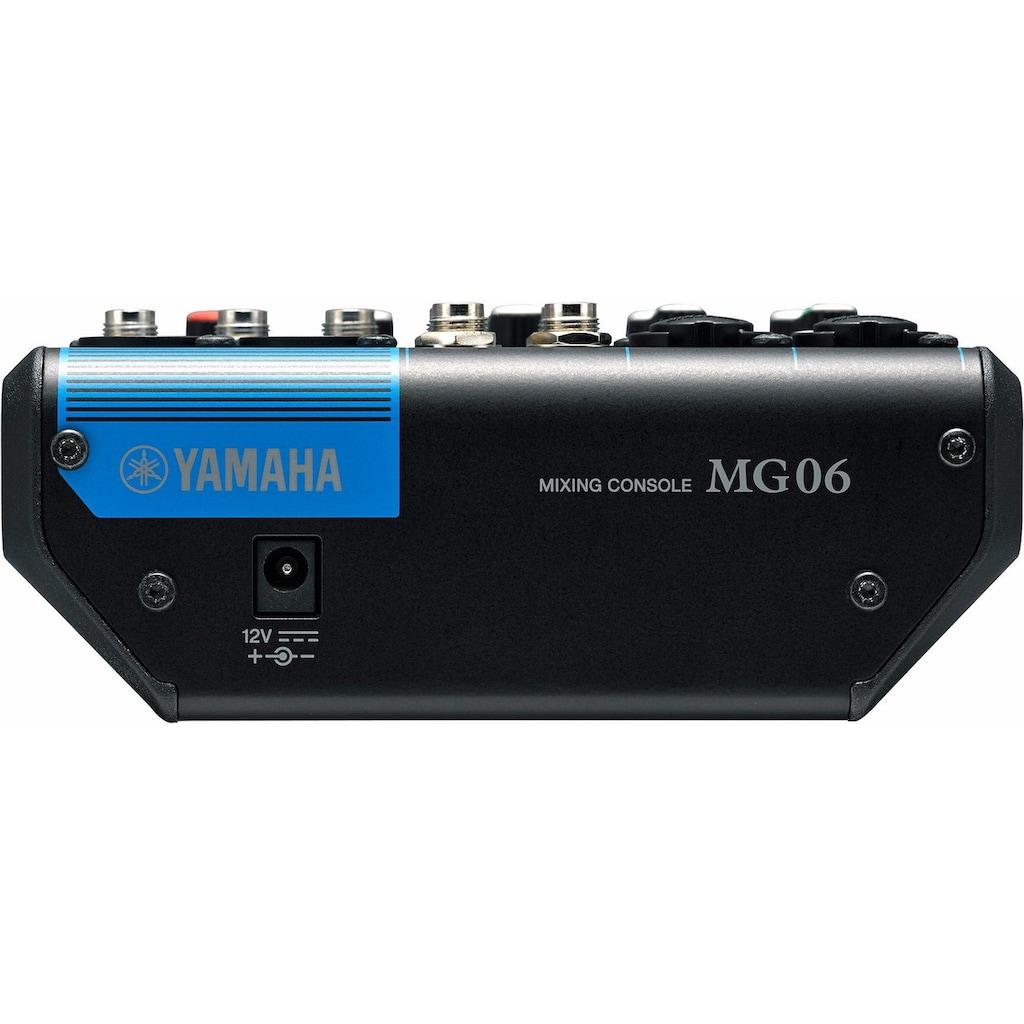 Yamaha Mischpult »6-Kanal Mischpultkonsole MG06«