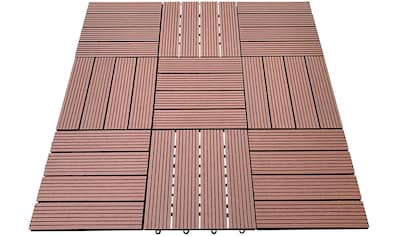 HOME DELUXE Terrassenplatten, WPC-Fliesen kaufen