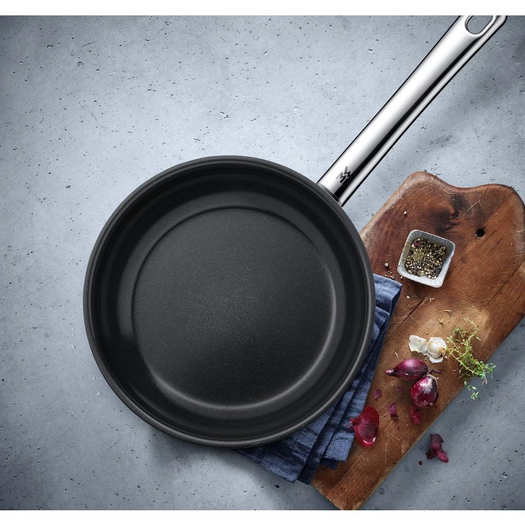 WMF Bratpfanne »Devil«, Cromargan® Edelstahl Rostfrei 18/10, (1 tlg.), Pfanne mit Keramikbeschichtung