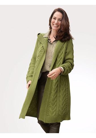 Mona Longstrickjacke, mit Zopfmuster kaufen