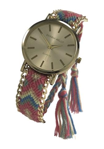 Armbanduhr in geknüpfter Optik kaufen
