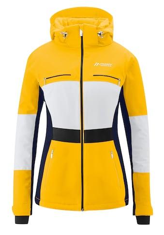 Maier Sports Skijacke »Teplaya«, Warm wattierte Skijacke mit optisch angedeutetem Gürtel kaufen
