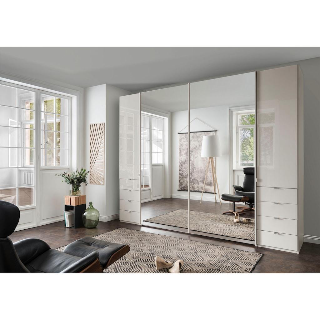 WIEMANN Dreh-/Schwebetürenschrank »Nizza«, mit Glasfront und Spiegel