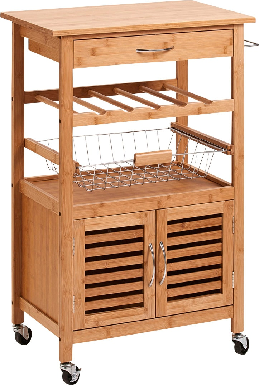 Zeller Present Küchenwagen Bamboo (1 Stück)