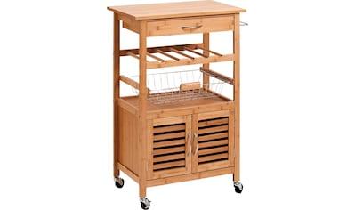 Zeller Present Küchenwagen »Bamboo« (1 Stück) kaufen