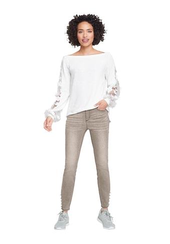 Creation L Pullover mit Blüten - Applikationen kaufen