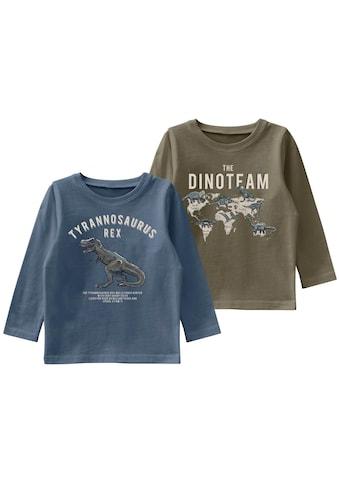Name It Langarmshirt »THE DINO TEAM« kaufen
