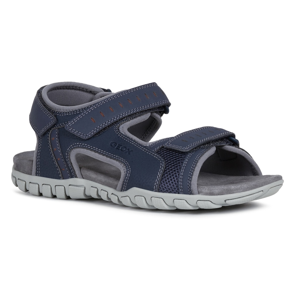 Geox Sandale »U Sandal Mito«, mit komfortablem Softfußbett aus Leder