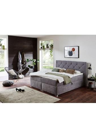 ATLANTIC home collection Boxbett, mit XXL-Bettkasten und Topper kaufen