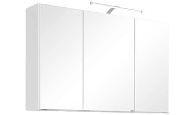 HELD MÖBEL Spiegelschrank »Florida«, Breite 100 cm, mit LED-Beleuchtung kaufen