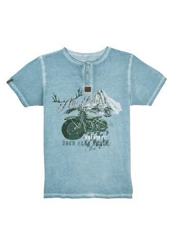 MarJo Trachtenshirt, im Used-Look kaufen