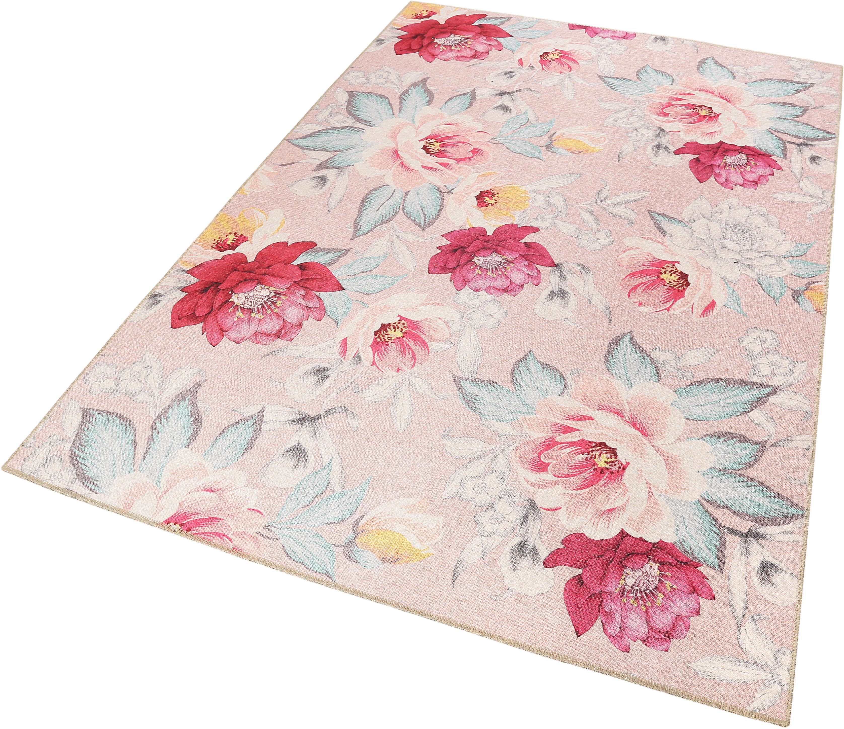 Teppich Isla floral Accessorize Home rechteckig Höhe 6 mm maschinell gewebt