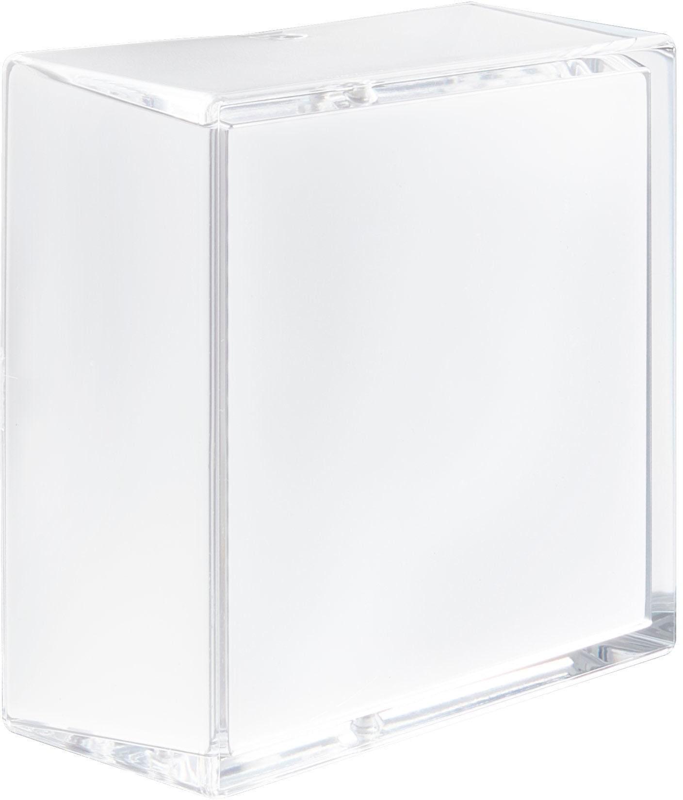 HEITRONIC Außen-Wandleuchte Cabrera, LED-Board, Warmweiß, Schutz gegen Vandalismus
