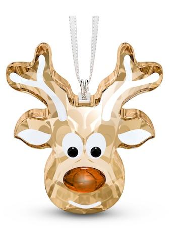Swarovski Dekofigur »Lebkuchen Rentier Ornament, 5533944«, Swarovski® Kristall mit... kaufen