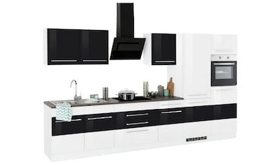 HELD MÖBEL Küchenzeile »Trient«, mit E-Geräten, Breite 350 cm kaufen