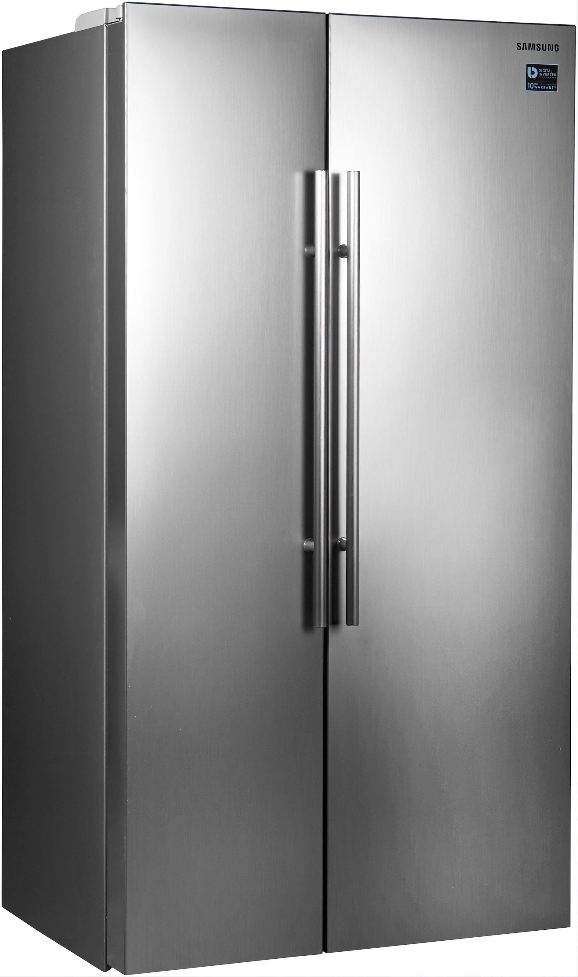 Samsung Side By Side Kühlschrank Weiß : Side by side kühlschrank auf rechnung raten kaufen