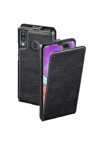 Hama Flap - Tasche Handy Hülle Samsung Galaxy A40 aufklappbar »Smartphone Schutzhülle schwarz« kaufen