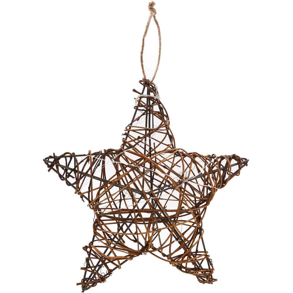 LED Stern, Höhe ca. 30 cm