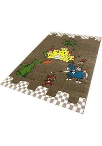 Kinderteppich, »Momo Ritter«, Festival, rechteckig, Höhe 13 mm, maschinell gewebt kaufen