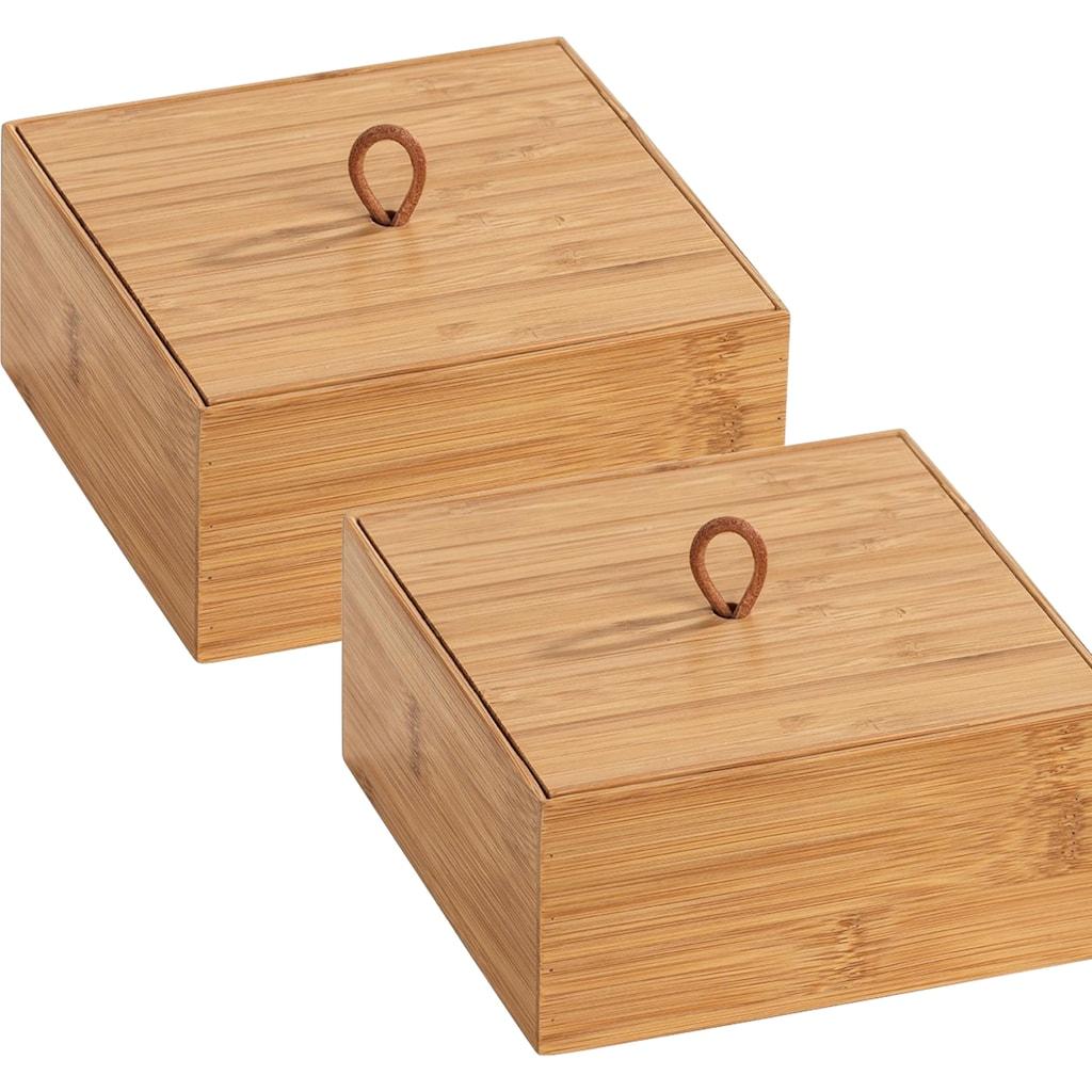 WENKO Aufbewahrungsbox »Terra«, (Set, 2 St.)