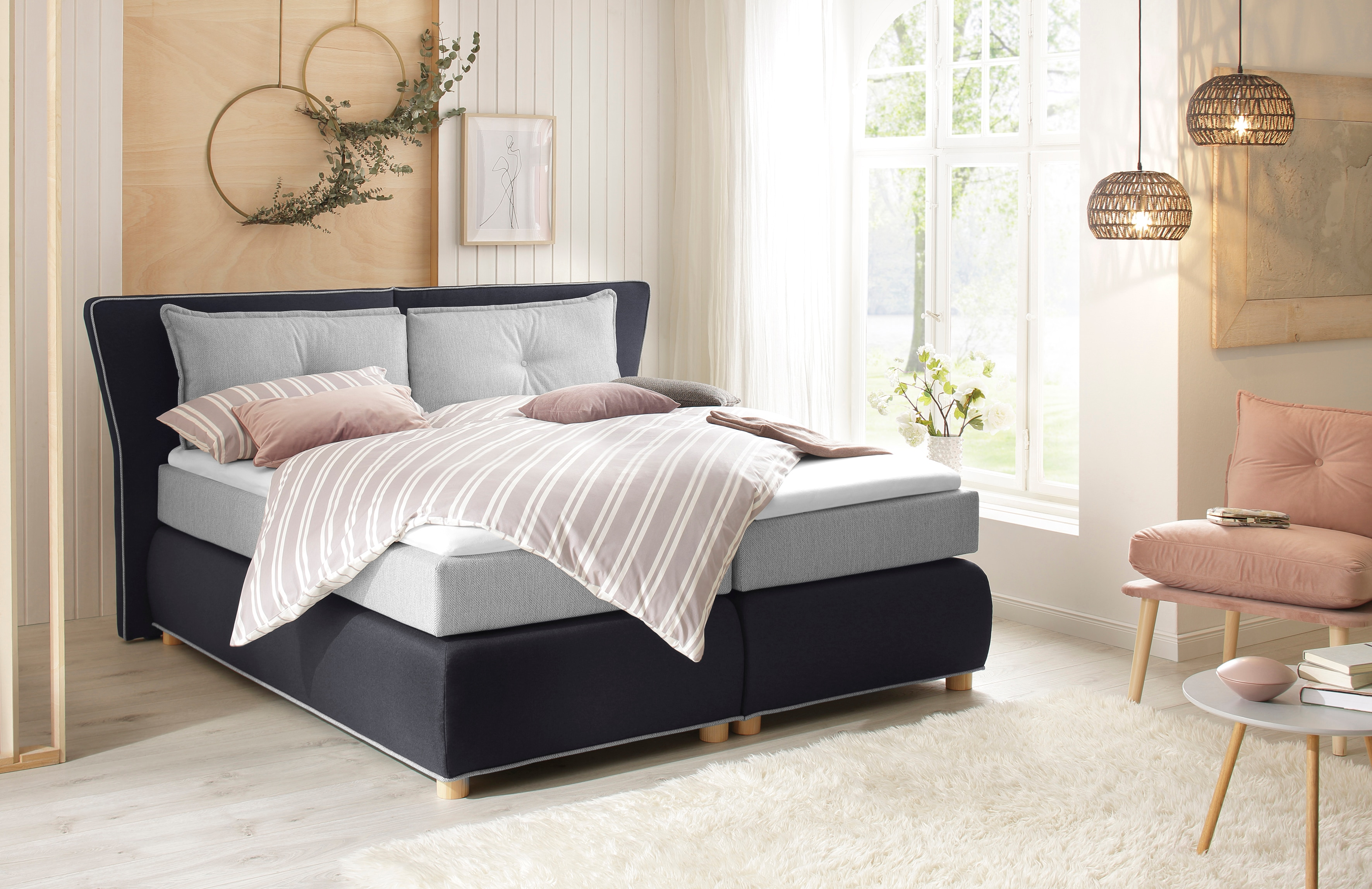 Home affaire Boxspringbett FLORES