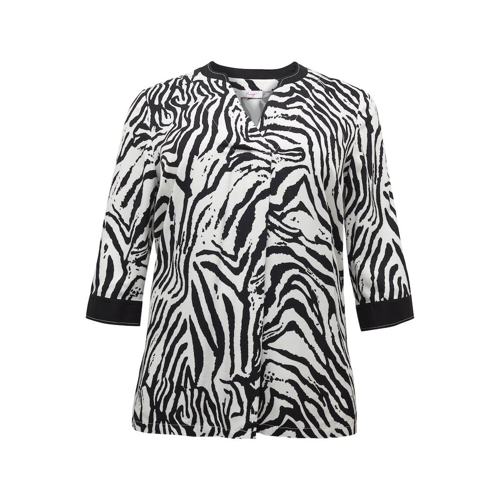 Sheego Tunika, mit Zebra Print in A-Linie