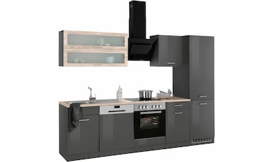 HELD MÖBEL Küchenzeile »Utah«, ohne E-Geräte, Breite 280 cm kaufen