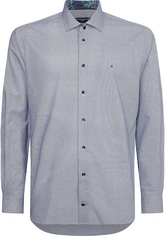 TOMMY HILFIGER Langarmhemd »MINI CHECK REG SHIRT« kaufen