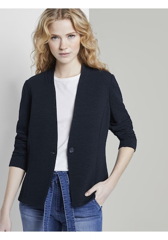TOM TAILOR Blusenblazer »Blazer in Crincle-Optik« kaufen