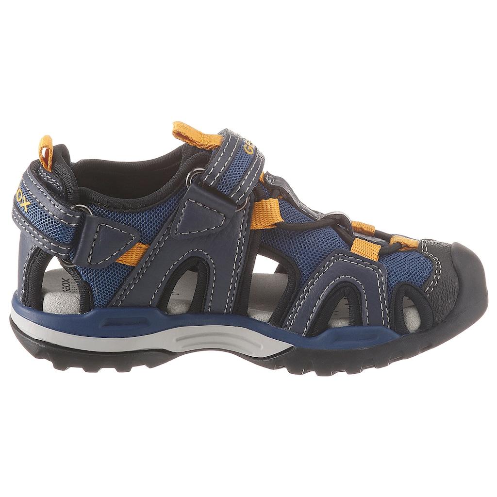 Geox Kids Sandale »Borealis Boy«, mit praktischen Klettverschlüssen